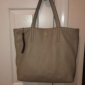 Kate Spade large tote pebbled leather